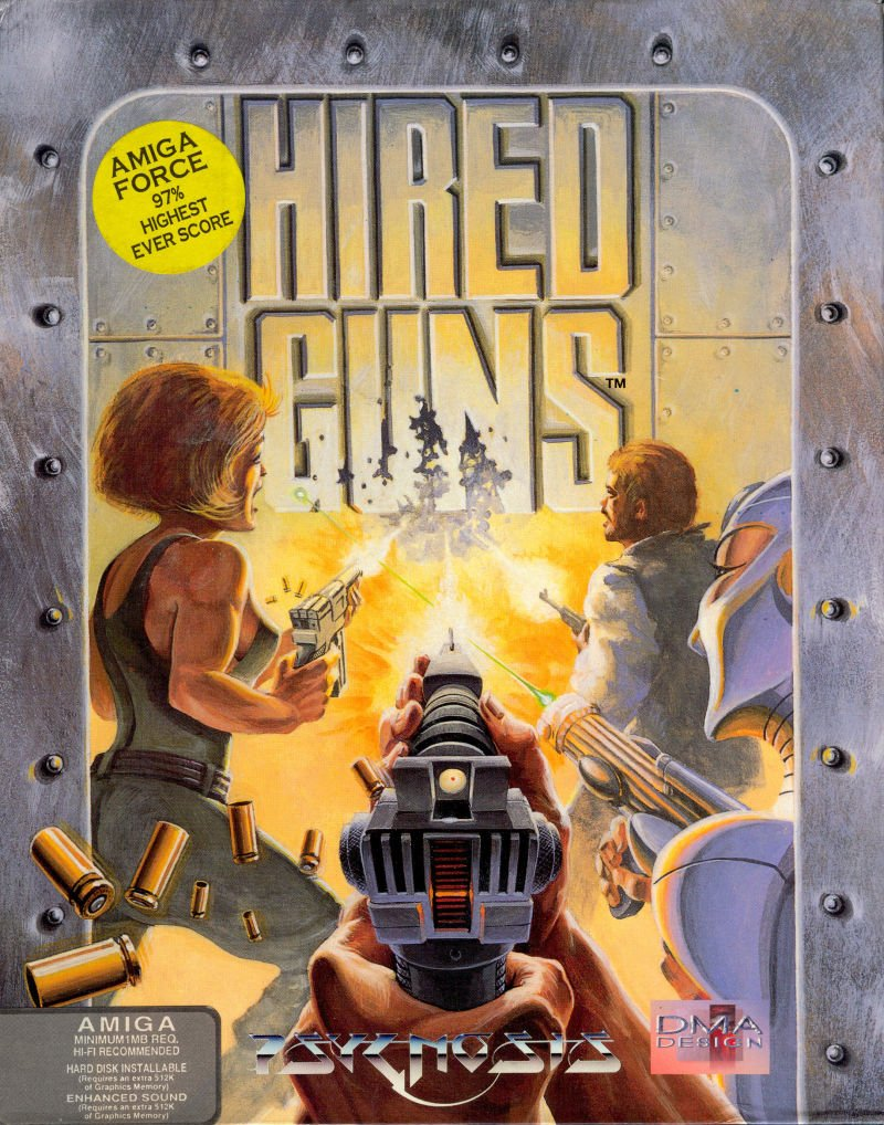 Capa do jogo Hired Guns