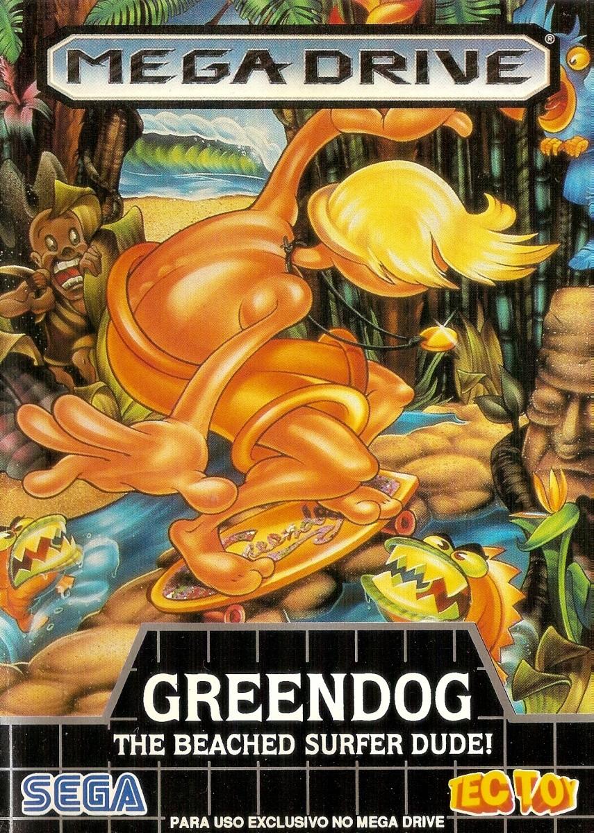 Greendog: The Beached Surfer Dude! para Mega Drive (1992) | BD Jogos