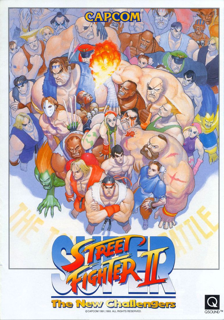 Capa do jogo Super Street Fighter II