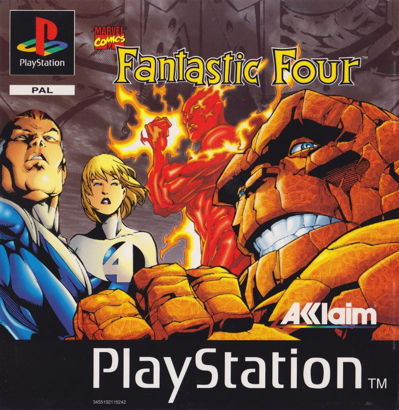 Capa do jogo The Fantastic Four