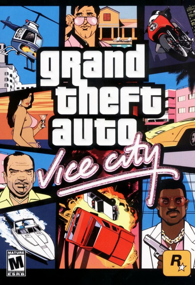 Capa do jogo Grand Theft Auto: Vice City