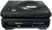 Foto do Console Sega CD