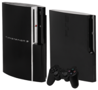 Foto do Console Playstation 3